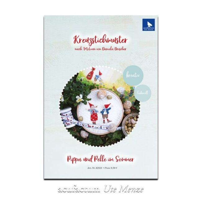 **〔Acufactum〕 図案 / A-82923 / Pippa & Pelle im Sommer