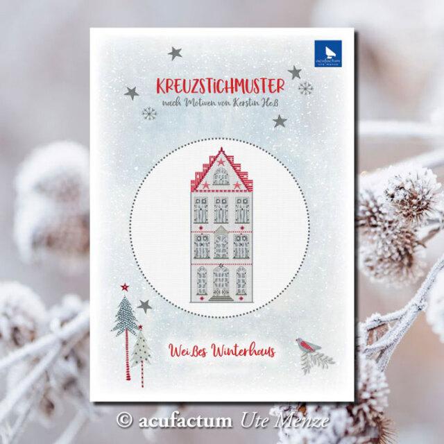 〔Acufactum〕 図案 A-82926 Weißes Winterhaus