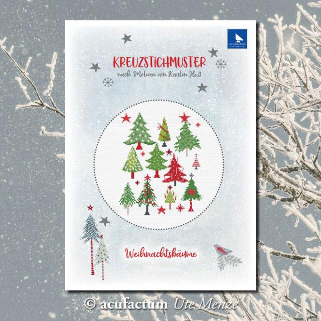 〔Acufactum〕 図案 A-82927 Weihnachtsbaume
