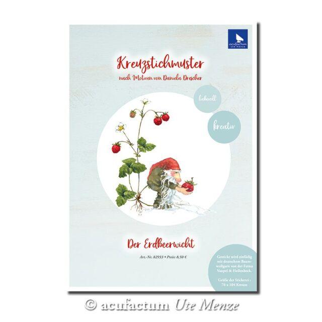 〔Acufactum〕 図案 / A-82933 / Erdbeerwicht 【即日発送可】