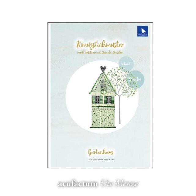 **〔Acufactum〕 図案 / A-82934 / Gartenhaus
