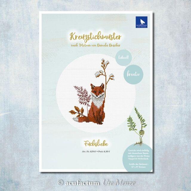 **〔Acufactum〕 図案 / A-82941 / Fuchsliebe