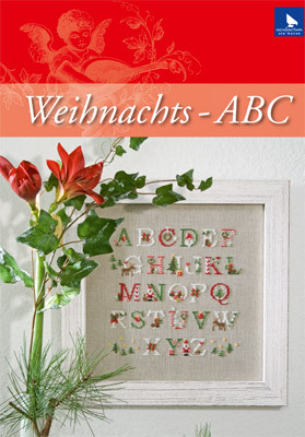 〔Acufactum〕 図案 A-8-4089-01 Weihnachts-ABC 【即日発送可】