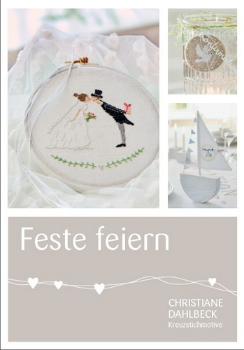 〔Fingerhut〕 図案集 B-128 Feste feiern