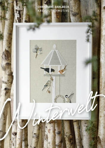 *〔Fingerhut〕 図案集 B-132 Winterwelt
