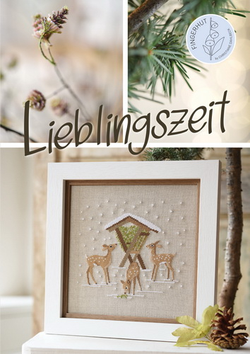 *〔Fingerhut〕 図案集 B-134 Lieblingszeit <11月末入荷予定>