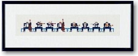 〔Bahmann〕 刺繍キット B30-9025 【即日発送可】