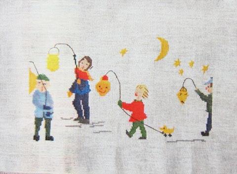 〔Bahmann〕 刺繍キット B30-9169 <9月のおすすめ>