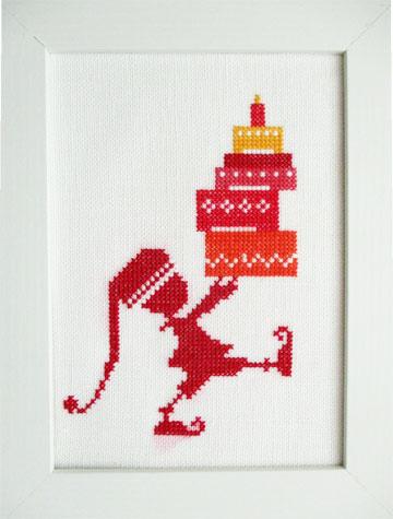 〔Bahmann〕 刺繍キット B30-9262