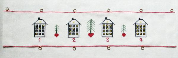 〔Bahmann〕 刺繍キット B34-9257 <12月のおすすめキット>