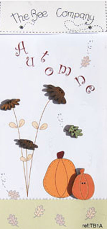 〔The Bee Company〕 ウッドボタン  TB1A