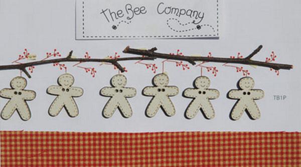 〔The Bee Company〕 ウッドボタン  TB1P