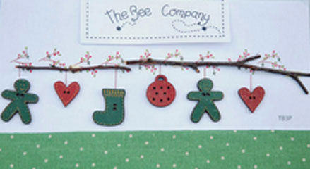 〔The Bee Company〕 ウッドボタン  TB3P