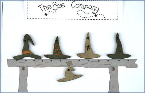 〔The Bee Company〕 ウッドボタン  TBHA7