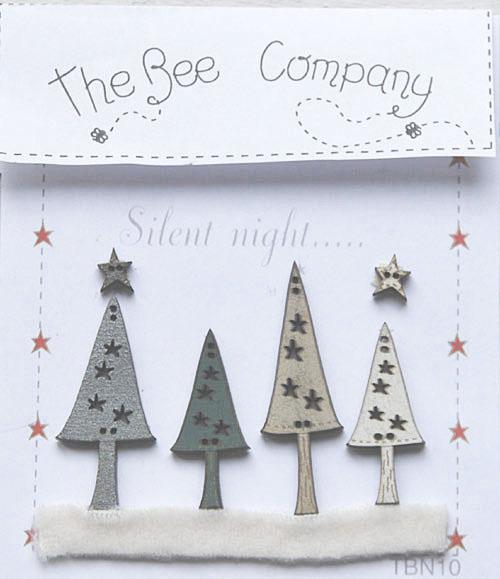 〔The Bee Company〕 ウッドボタン  TBN10