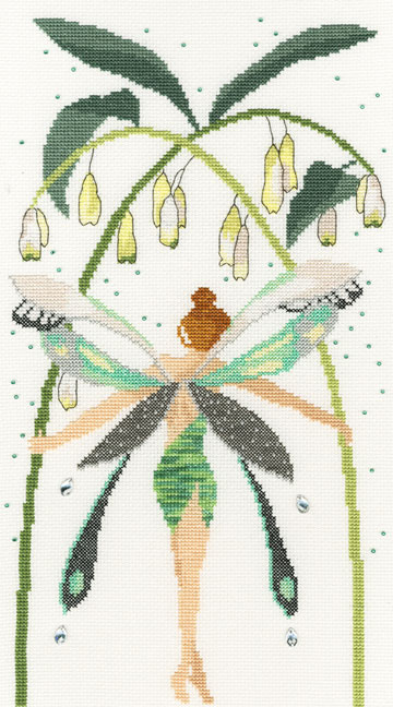 〔Bothy Threads〕 刺繍キット XF8 <3月のおすすめキット>