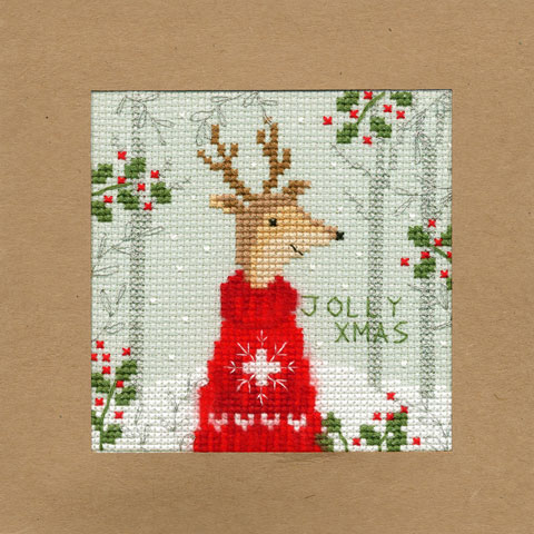 〔Bothy Threads〕 刺繍キット XMAS12 【即日発送可】