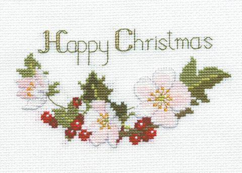 〔Derwentwater Designs〕 刺繍キット DW-CDX01 <11月のおすすめキット>