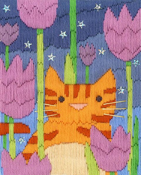 〔Derwentwater Designs〕 ロングステッチ刺繍キット DW-LSC2 <4月のおすすめ>