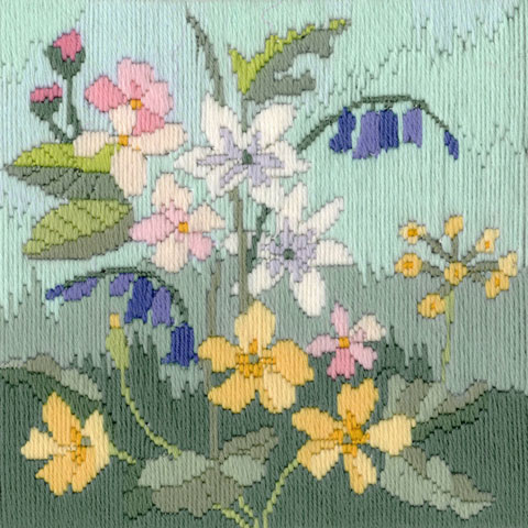 〔Derwentwater Designs〕 刺繍キット DW-LSS01 <2月のおすすめキット>
