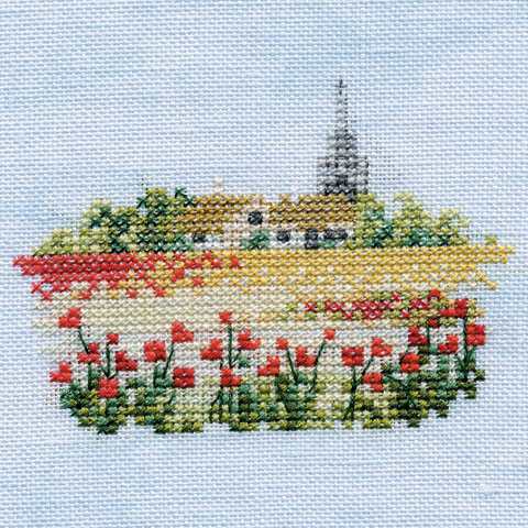〔Derwentwater Designs〕 刺繍キット DW-MIN08 <7月のおすすめキット>