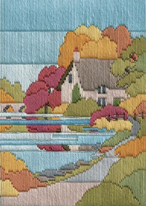 〔Derwentwater Designs〕 刺繍キット DW-MLS23