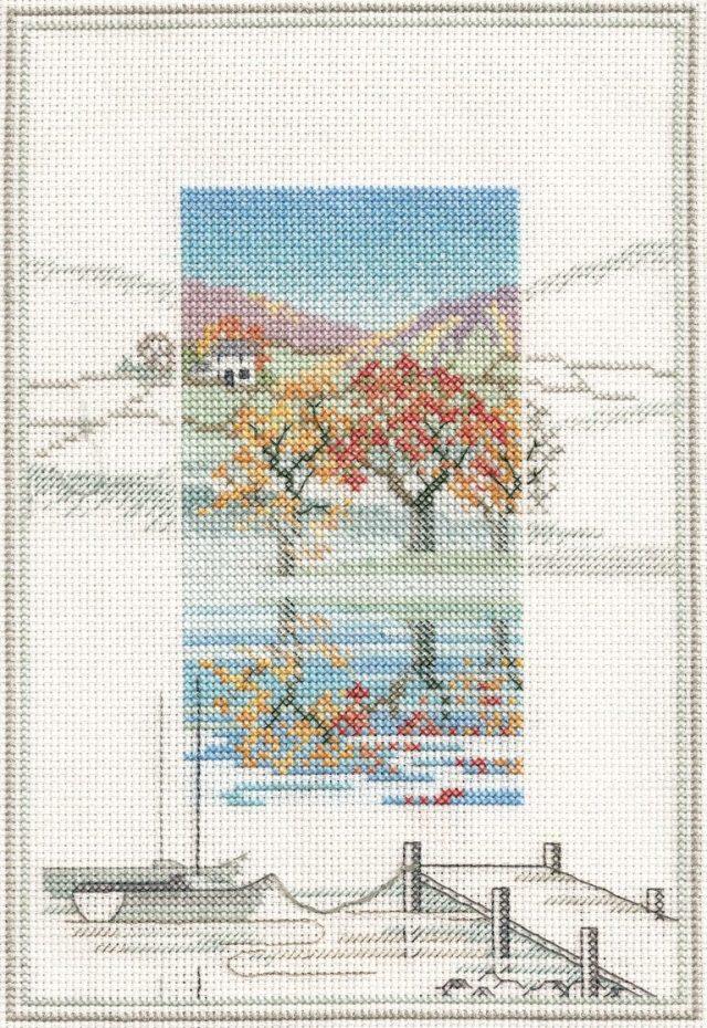 〔Derwentwater Designs〕 刺繍キット DW-MM3 <廃盤>