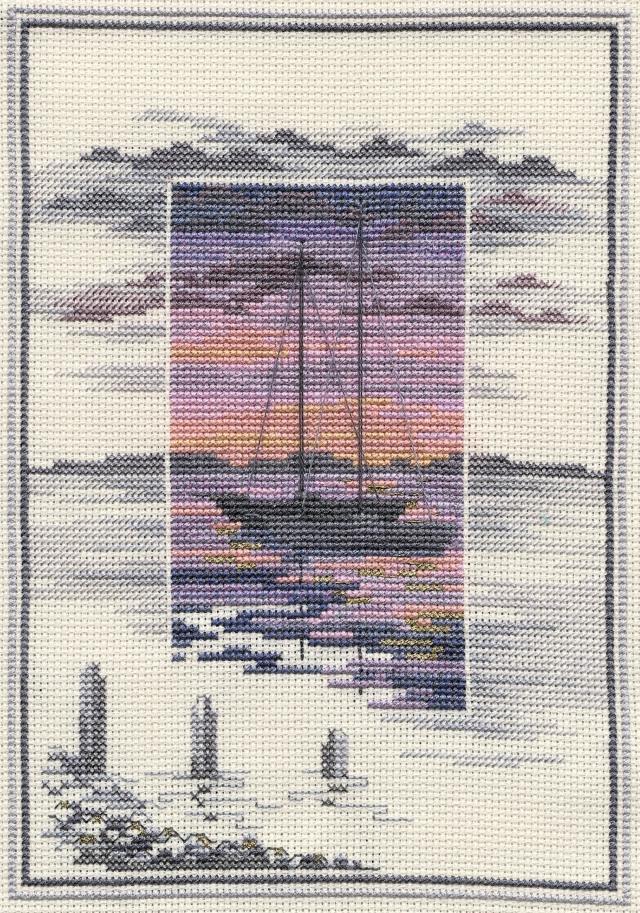 〔Derwentwater Designs〕 刺繍キット DW-TWL01 <廃盤>
