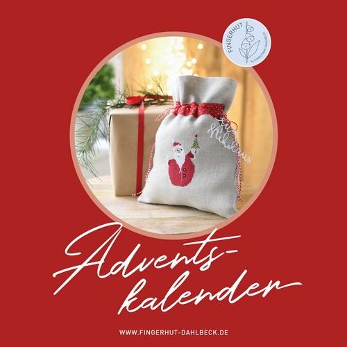 *〔Fingerhut〕 図案集 K-104 Adventskalender <11月中旬入荷予定>