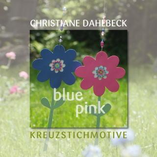 〔Fingerhut〕 図案集 L-111 Blue Pink