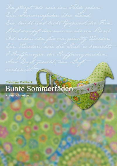 〔Fingerhut〕 図案集 L-113 Bunte Sommerfaden