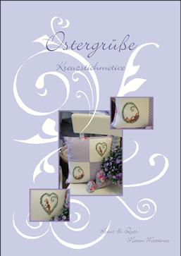 〔Kreuz&Quer〕 図案集 L001-09 Ostergruesse