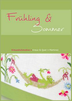 〔Kreuz&Quer〕 図案集 L001-16 Friuhling & Sommer