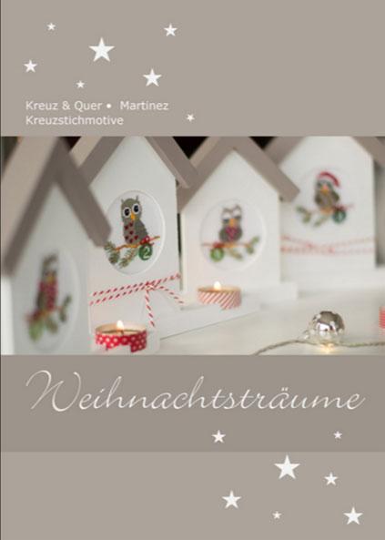 〔Kreuz&Quer〕 図案集 L003-15 Weihnachtstraume