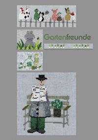 〔MWI-3472〕 図案集 Gartenfreunde