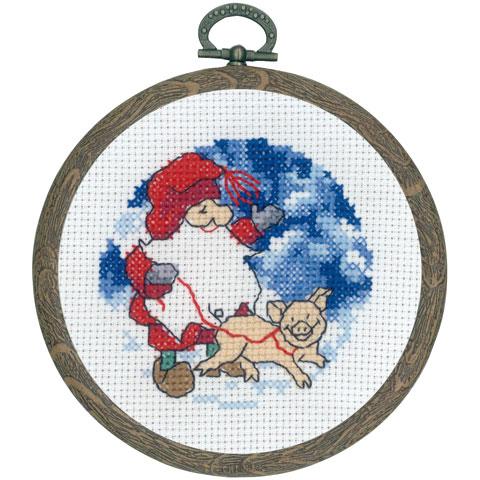 〔Permin〕 刺繍キット P13-0627