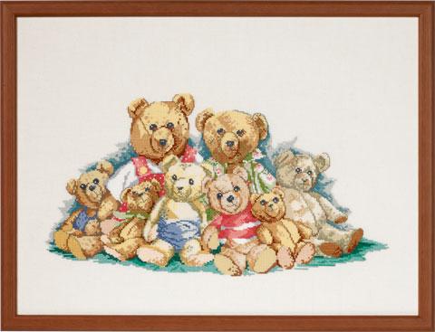 〔Permin〕 刺繍キット P90-9581