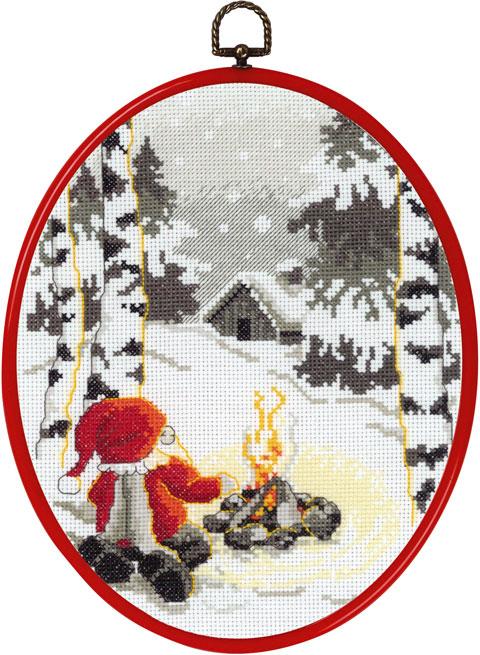 〔Permin〕 刺繍キット P92-7638