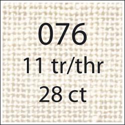 **〔Permin〕 リネン11th/cm 140cm幅 (1m以上10cm単位)