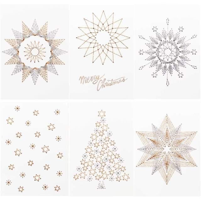 〔Rico Design〕08792.77.55 紙刺繍 / クリスマス 【即日発送可】