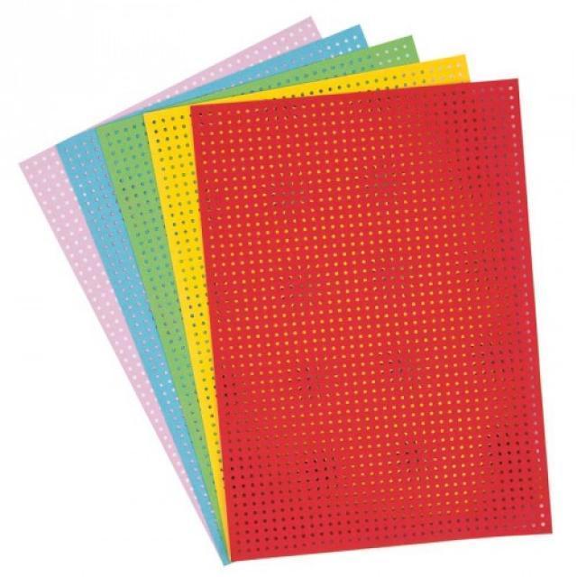 〔Rico Design〕 08792.78.73 紙刺繍  / カラー 5色セット 【即日発送可】