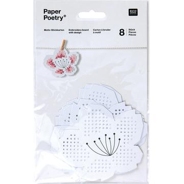 〔Rico Design〕 08792.78.79 紙刺繍  / 桜