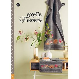 **〔Rico Design〕 図案集 No.157 exotic Flowers