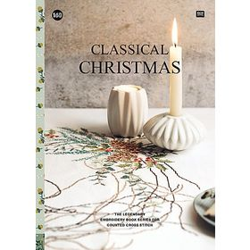 〔Rico Design〕 図案集 No.160 Classical Christmas