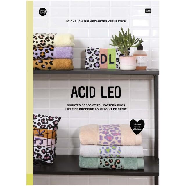 *〔Rico Design〕 図案集 No.173 Acid Leo <Happy Point5倍>