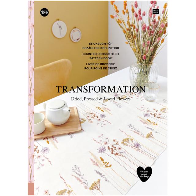 〔Rico Design〕 図案集 No.174 Transformation