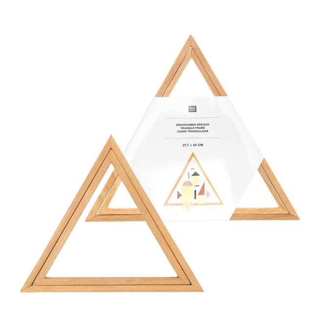 *〔Rico Design〕 95332-00-00 フレーム / 三角 21x18 cm<Happy Point5倍>