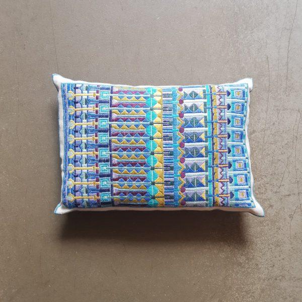 〔Svensk Hemslojd〕 刺繍キット / プラットソム / Oriental - Blue
