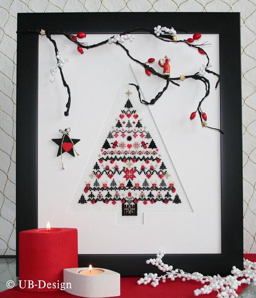 **〔UB Design〕 図案 UB-773 Weihnachtsglanz