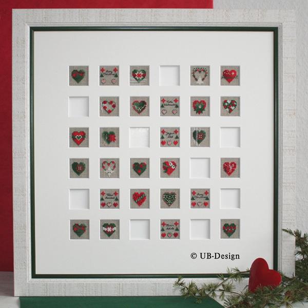〔UB Design〕 図案 UB-822 Memory zur Weihnachtszeit 【即日発送可】
